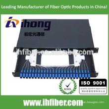 SC / FC / ST 19 '' estructura estándar fibra óptica terminal cuadro / ODF / patch panel