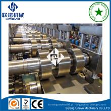 Tubo de downspout de metal máquina de formação de rolo frio