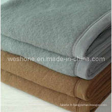 Couverture de couverture, couverture de 100 % de laine, laine Wb-0605