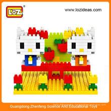Hot Selling LOZ Small Particles Diamond DIY Originality Splicing Toy Block Kitty