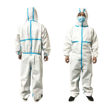 Hospital Workwear Clothing Coverall Protection Suit Apparel