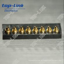 8 pin mola carregado Pogo pin conector