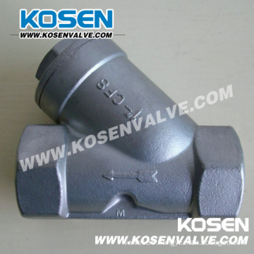 Stainless Steel Y-Type Thread Strainer (YG11)
