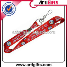 Fashion cheap custom whistle lanyard