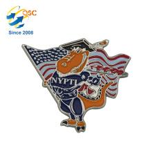 O metal feito sob encomenda para o estilo diferente dos ofícios projeta o emblema