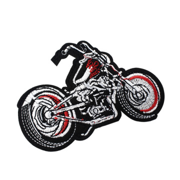 Chopper Motorrad Stickerei Patches Applikation