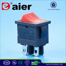 Interruptor oscilante de 4 patas T85 1E4