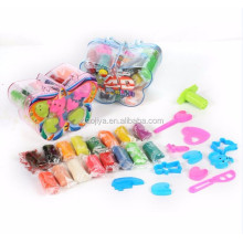 DUCKEY Factory Cheap Eco Friendly Polymer Clay China Play Dough Kids Toy 16 Color Manufacturer CN;ZHE EN71 339