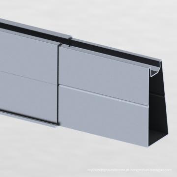 Sistema de montagem solar para estacionamento em forma de Y de grade 500KW