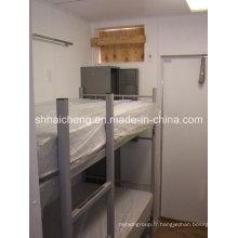 Maison portative de récipient, Chambre plate de récipient de paquet