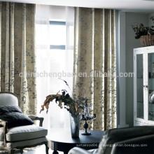 Home decoração espessa pesada cortina tecido casa cortina de ar