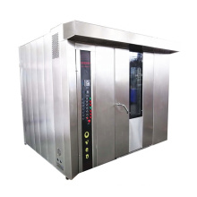 Commercial hot air gas heating cake bread baking oven multifunctional rotary electric bakery pizza roasting machine