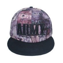 Snapback Cap with Sublimation Pattern (GKA15-F00043)