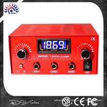 3A Ausgang 10 Truns Micro-Turning LED digitale Dual Tattoo Stromversorgung