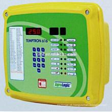 caixa de controle elétrica automática do projeto novo para a casa de galinha