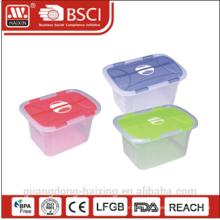 Conteneur de stockage en plastique W/roues 8.6L/12.8L/20L