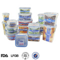 runder Zylinder verschließbaren Kunststoff wasserdicht Lebensmittelbehälter