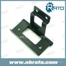 Schwarze Farbe Eisen Biegen Hardware Tür Scharnier