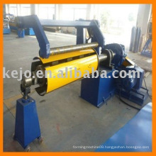 Slitting machine with decoiler