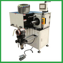 Big stator coil lacing machine