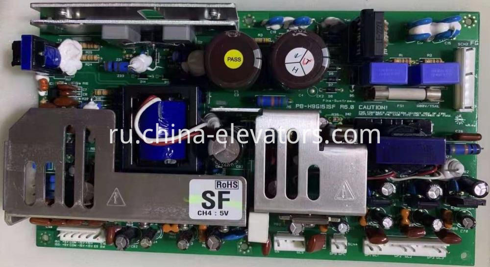 Hyundai Elevator Inverter Power Supply Board PB-H9G15ISF