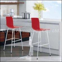 Оптовая новый дизайн пластиковых шикарные высокие барные стулья (СП-UBC245)