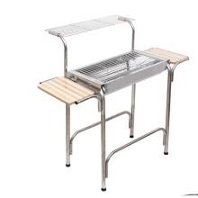 Gril de barbecue domestique en acier inoxydable