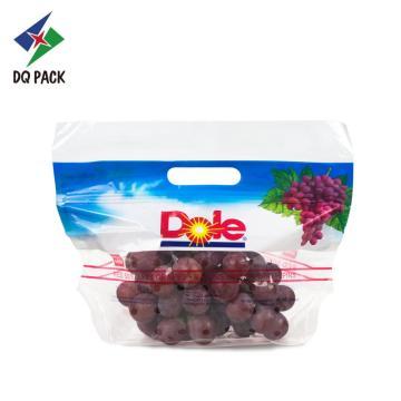Saco plástico de abertura de frutas com ziplock
