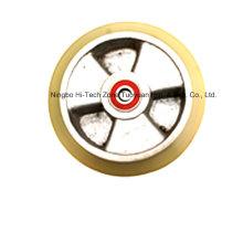 Roda da bota do guia de Schindler para o elevador