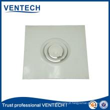 Difusor redondo de alumínio do teto da grade do condicionamento de ar da ATAC