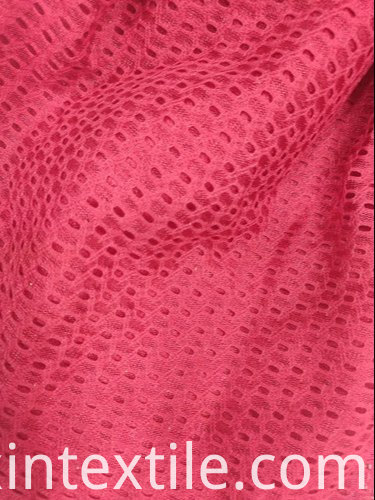 Hole Knitted Jacquard Fabric 500x500