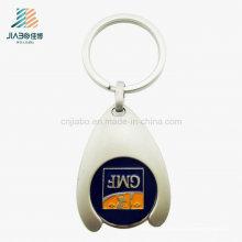 Moeda simbólica personalizada China do trole do logotipo do presente relativo à promoção com chaveiro