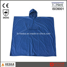 Heißer Verkauf Herren PVC Kapuze Mantel Regenponcho