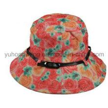 Beautiful Lady Bucket Cap/Hat, Floppy Hat