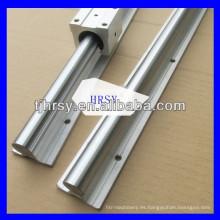 Suministro SBR Aluminio Guía lineal SBR10