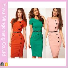 Vente en gros de style européen et américain Style Fashion Fashion Slimming Pencil Dress