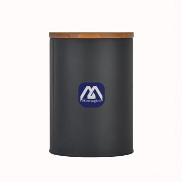 Recipiente Homagico para mostrador de cocina, recipiente para almacenamiento de alimentos con tapa hermética para té, azúcar y café