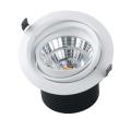 Downlight au plafond blanc chaud de 125 mm de diamètre