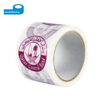 Fita adesiva impressa da embalagem de Bopp do logotipo feito sob encomenda adesivo