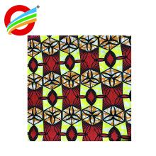 Los colores brillantes enceran la tela que java africana africana para los zapatos