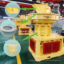 Máquina de pellets de madera para la prensa de pellets de polvo de madera