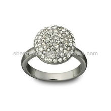 Wholesale 2015 Latest Fashion Stainless Steel Jewelry Full Rhinestone Ring from Manufacturer Supplier Factory