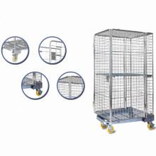 Großer Kapazitäts-Metallrollen-Draht-Behälter für Lagerung durch Yuanda-Handels-Ausrüstungen