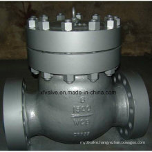 600lb/900lb/1500lb Cast Steel Wcb Flange Swing Check Valve