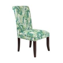 Cadeiras de jantar em tecido de linho para restaurantes em estilo americano