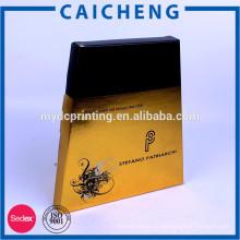 Переработанных материалов матовой и глянцевой косметическая коробка слоения