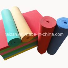 Vente en gros Matériau d'isolation en EVA en plastique coloré en mousse