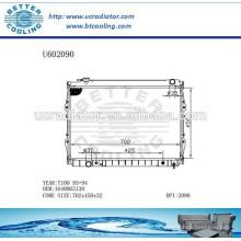 Radiateur pour TOYOTA 93-94 T100 1640065130 Fabricant et vente directe