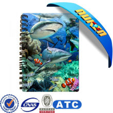 Factory High Quality 3D Notebook with PP Material