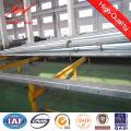 10m 5kn Steel Galvanized Electric Pole for Ghana Distribution Line